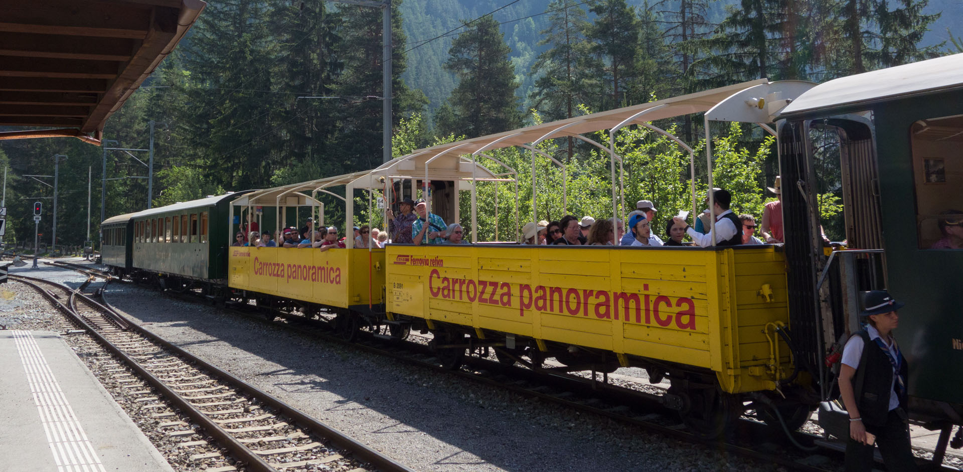 Carrozza panoramica