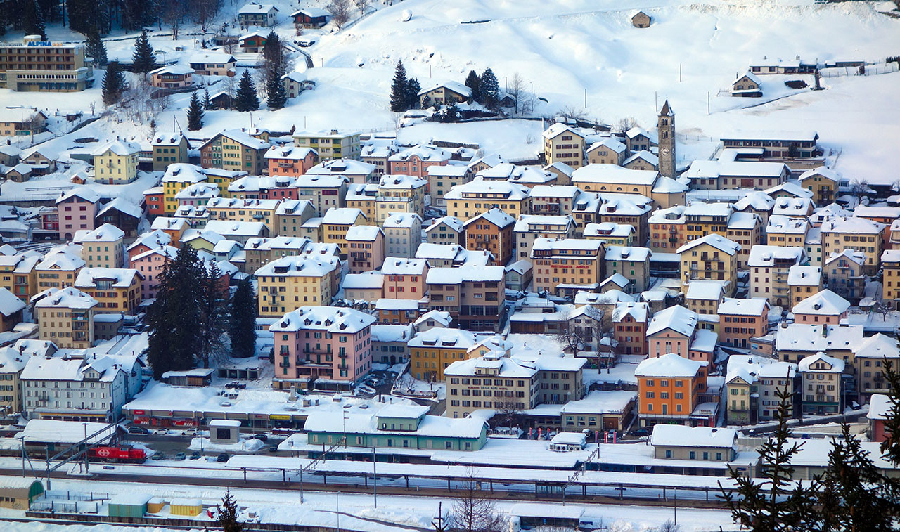 Airolo im Winter