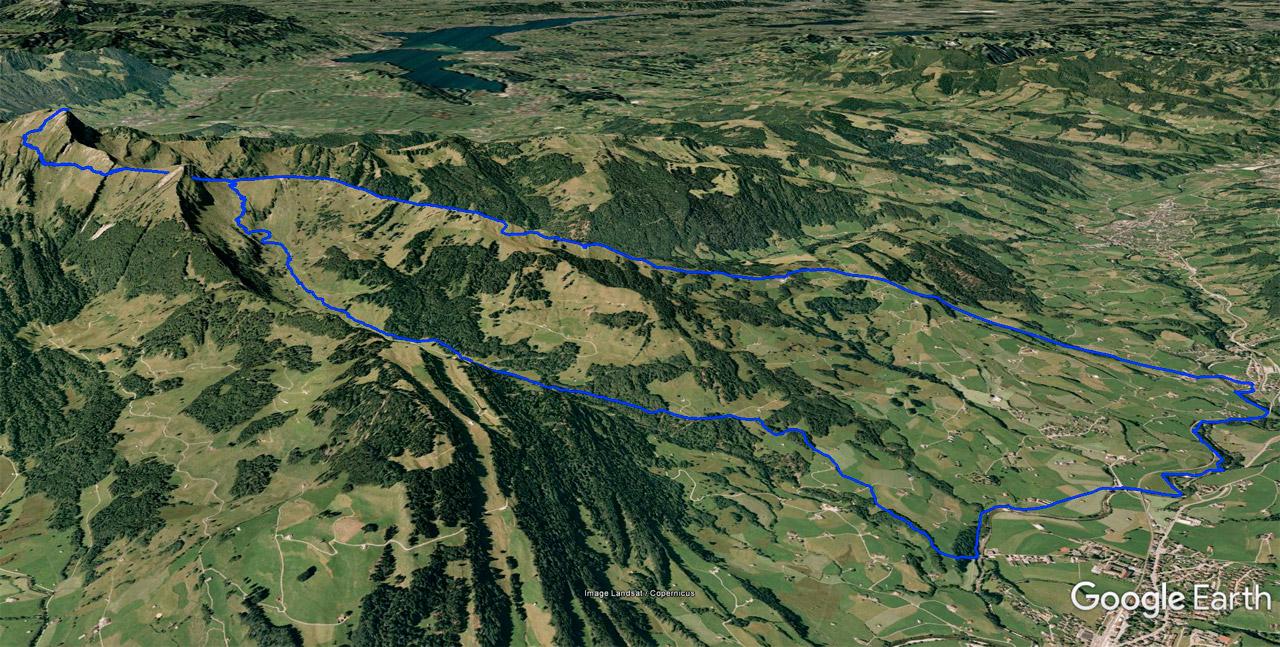Klettersteig Speer : ⛰ krummenau speer wanderung